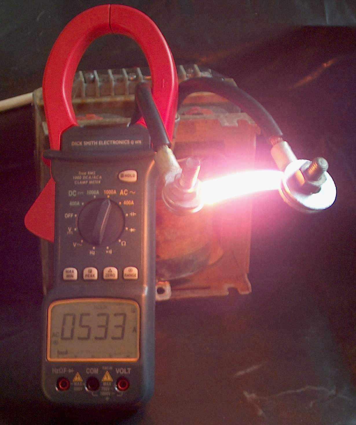 Low Voltage Power Homopolar Motor Explanation Electrical Measurement Click To Enlarge