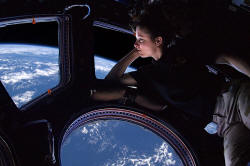 Cupola ISS Tracy Caldwell Dyson from Wiki