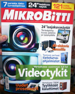 Finnish computer mag cover