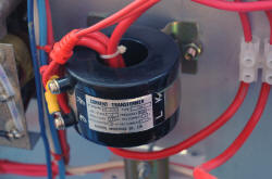 Current transformer 150 A rated