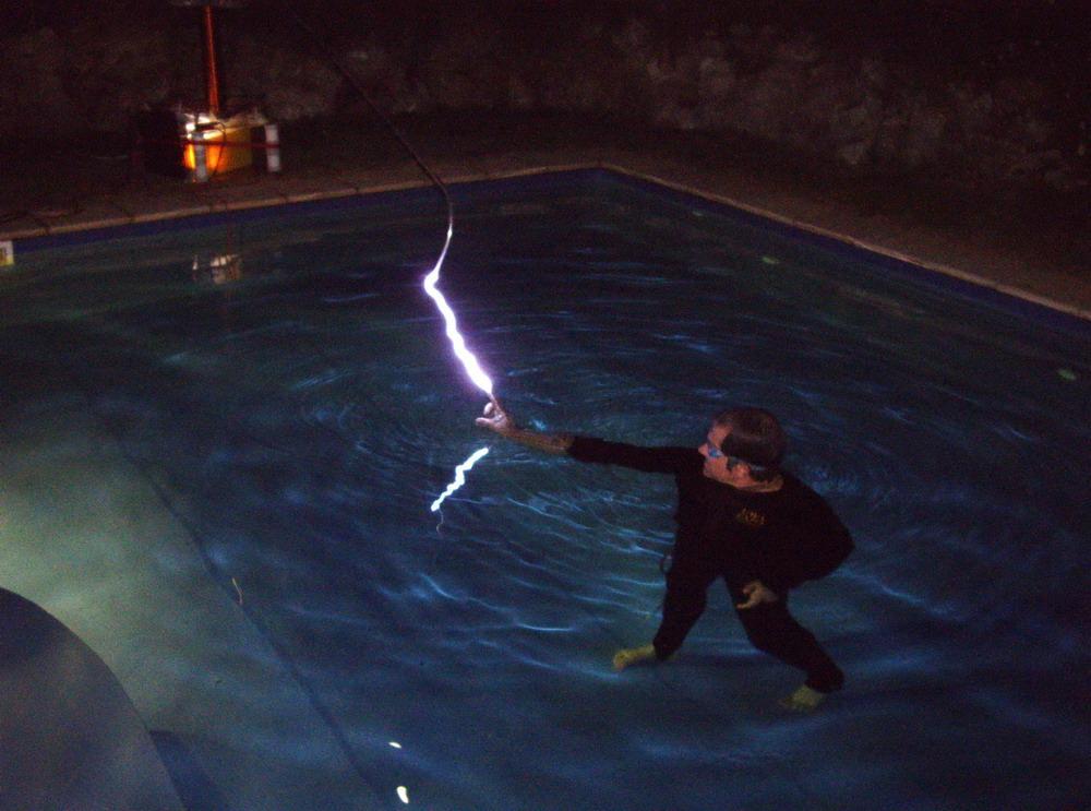 Tesla Coil Sparks