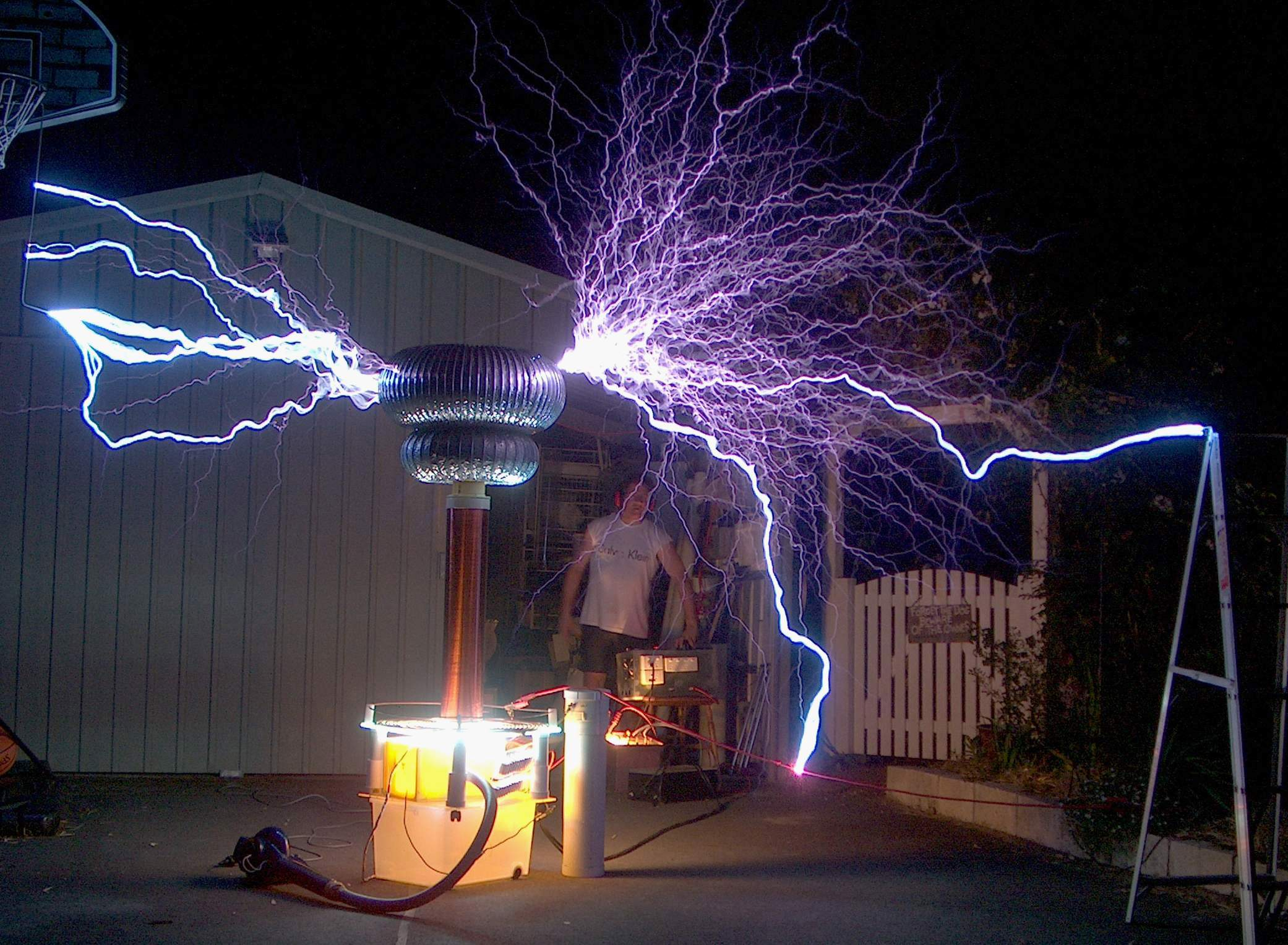 What is a Tesla coil? 2003