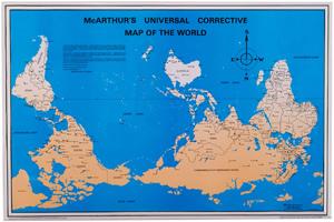 Australia Downunder Corrective Map